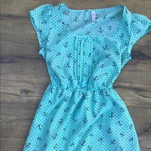 Aqua Anchors & Polka Dots!
